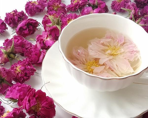 大马士革玫瑰花茶